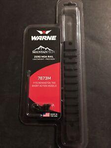Warne Mountain Tech Rail for Remington 700 Short Action - 0 MOA 7673M