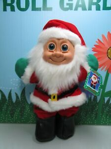 """CHRISTMAS SANTA w/HANG TAG - 11"""" Russ Troll Kidz - NEW FROM AN UNOPENED TWO PACK"""