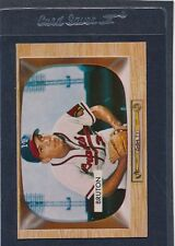 1955 Bowman #011 Billy Bruton Braves VG/EX 55B11-10216-2