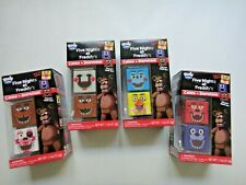 4 packs Radz Cubez Five Nights at Freddy's Candy and Dispenser US Seller