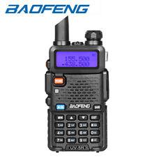 BAOFENG UV-5R Dual-Band Walkie Talkie Long Range Two Way Ham Radio USB Plug