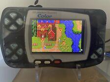 Amazing Bandai WonderSwan Color with IPS Screen.