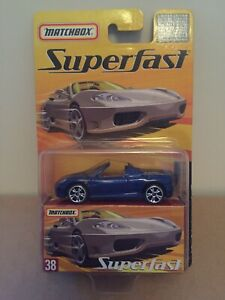 Matchbox Superfast Ferrari 360 Spider Number 38