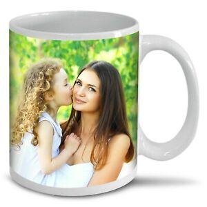 Personalised Photo Mug Custom Cup Text Image Name Logo Birthday Christmas Gift