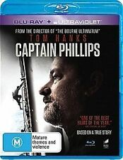 CAPTAIN PHILLIPS New Blu Ray + UV TOM HANKS ***