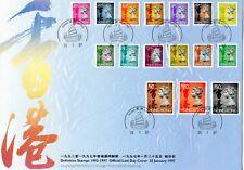 Hong Kong - Sc 630, 630A, 631, 636, 638-40, 642, 646-48, 651A-651E.
