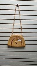 Hausa Nigeria African Authentic Straw and Wicker Bag Purse Home Decor 23