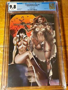 CGC 9.8 Vampirella Red Sonja 10 Paralel Evren Istanbul Celor Exclusive Virgin