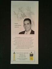 1956 Otto Graham Cleveland Browns Football Sports Memorabilia Photo Promo Ad