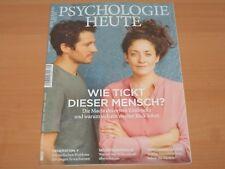 """PSYCHOLOGIE HEUTE """"WIE TICKT DIESER MENSCH?"""" September 2017 Neuwertig!"""
