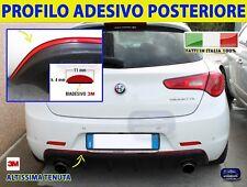 Profilo Adesivo Rosso Giulietta Paraurti Posteriore per Tuning Alfa Romeo Auto