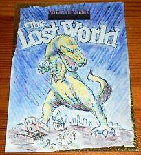 Movie Posters Sci-fi Horror 2 The Lost World Movie Art by Alex Alderate