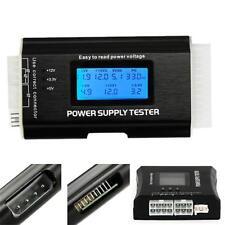 PC Computer LCD 20/24 Pin 4 PSU ATX BTX  SATA HDD Digital Power Supply Tester HS
