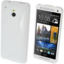 Custodie preformate/Copertine bianchi per HTC One mini
