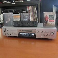 SONY MD MDS-JE780 lecteur salon mini disc silver télécommande notice