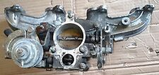 Toyota 2L-T intake manifold with the throttle body