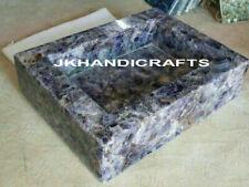 Amethyst stone Sink / Wash Basin Gemstone Handmade Kitchen Decor Gifts