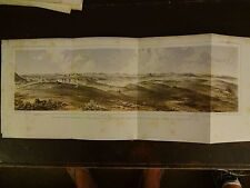 "Lithograph of ""ROCKY MOUNTAINS"" /John Mix Stanley/1860 Railroad Survey Report"