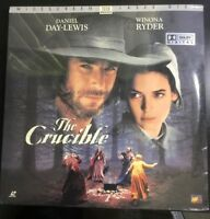 The Crucible NEW SEALED Widescreen Laserdisc LD Daniel Day Lewis & Winona Ryder