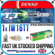 1x DENSO IW16TT (4708) IRIDIUM TT SPARK PLUG - WHOLESALE PRICE - IMPROVE MPG