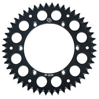 Primary Drive Rear Aluminum Sprocket 48 Tooth Black for Honda XR650R 2000-2007