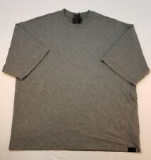Puma Fenty by Rihanna Gray Basic Crewneck T-Shirt Oversized Women's XS