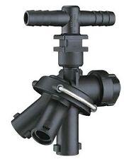 "Quick TeeJet 24230A-2-785-Nyb Triple Nozzle Body - Double Hose Shank - 3/4"" I.D."