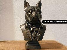 French Bulldog Bust, Dog Bust, French Bulldog, French Bulldog Decor, Office, new