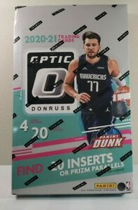 New/Sealed 2020-2021 NBA Donruss Optic Full Retail Box! Rated Rookies! FASC!