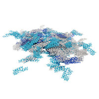 Wedding Sprinkles Scatter Birthday Anniversary Letter Table Confetti Silver Blue