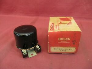 NOS Bosch Round Voltage Regulator Porsche 356 Pre-A DKW Goliath Lloyd