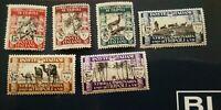Libia 1929 3a Fiera di Tripoli, serie cpl, nuovi **, Sass. 81-86, 1.000 eur cat