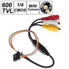 "600TVL 500MP 1/4"" HD Smallest Mini Camera Pinhole CCTV CMOS Hidden Covert Camera"