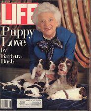 Life May 1989 Puppy Love by Barbara Bush w/ML VG 021916DBE