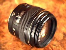Canon EF 85mm f/1.8 USM Lens - Water Damage