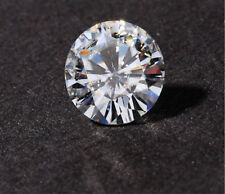 White Forever One Moissanite H Color 0.43cts 5mm Round Shape VVS1 Clarity
