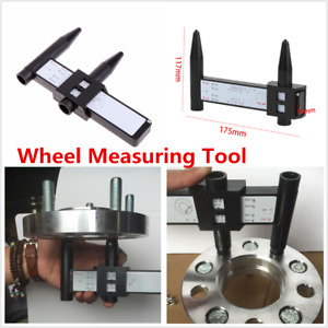 4 5 6 8 Lug Car Truck Wheel Rims New Rim Wheel Bolt Pattern Measuring Gauge Tool