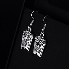 for Women Girl Retro Drop Earrings Vintage French fries Shape Dangle Earrings