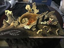Rare 1993 Tim Burton's Nightmare Before Christmas Super Pop-Up Book Hardcover!