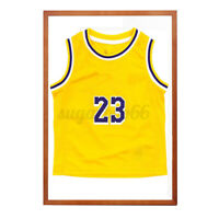 32'' Jersey Display Case Shadow Box Frame Sports Basketball Football Baseball