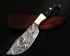 HUNTING STAG USA FORGED DAMASCUS-STEEL LONG HUNTERS KNIFE