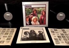 1972 MOUNTAIN LESLIE WEST FELIX PAPPALARDI 2 LP JAPAN ONLY BOX SET W/ 12 PG BOOK