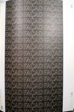 1970 FACAD Sculpted ASBESTOS Building Panel US PLYWOOD Champion Papers Catalog