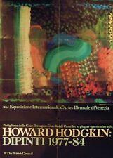 HODGKIN Howard, Howard Hodgkin. Dipinti 1977-84