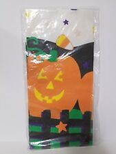 Halloween Paper Tablecloth Hallmark Cards Pumpkins Nip