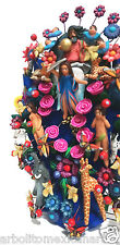 Adam and Eve Handcrafted Tree of Life/Arbol de la Vida/Mexican Folk Art