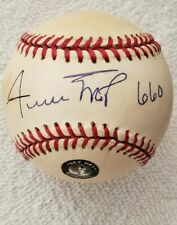wilie mays signed MLB with Mays holo and 660 HR inscription National League Ball