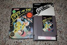 Skate or Die 1 (Nintendo NES, 1988) Complete in Box A B C FAIR