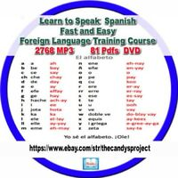 2768 Mp3s  Learn To Speak Spanish Fast Easy Foreign Language Training Course DVD