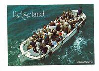 """AK, HELGOLAND, """"Landungsboot"""", Personen"""